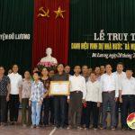 Đô Lương truy tặng danh hiệu vinh dự nhà nước 'Bà mẹ Việt Nam anh hùng'