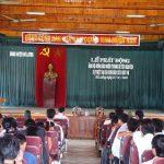 UBMTTQ huyện Đô Lương phát động đợt ủng hộ nhân dân Miền trung và Tây nguyên bị bão lụt