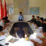 Đô Lương họp ban chỉ đạo tổ chức các hoạt động kỷ niệm 65 năm ngày thành lập QĐNDVN 20 năm ngày hội Quốc phòng toàn dân