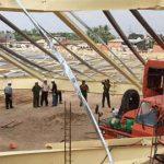 Cảnh sát điều tra vụ sập nhà xưởng ở Bình Dương