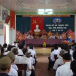 Đô Lương có 20 xã, Thị trấn và 25 cơ quan đơn vị tổ chức thành công Đại hội Đảng