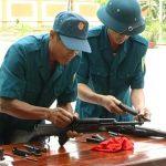 Ban chỉ huy quân sự huyện Đô Lương sơ kết 5 năm thực hiện cuộc vận động quản lý khai thác vũ khí, trang thiết bị kỹ thuật tốt, bền, an toàn, tiết kiệm và an toàn giao thông giai đoạn 2009-2014