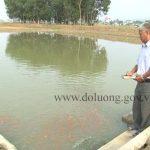 Cựu chiến binh Trần Văn Minh làm giàu từ nuôi cá giống