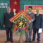 Trung tâm công tác xã hội kỷ niệm 15 năm chuyển về xóm Phú Thọ, xã Lưu Sơn, huyện Đô Lương.