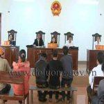 """Tòa án Đô Lương mở phiên tòa xét xử vụ án """"Trộm cắp tài sản"""""""