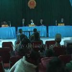 TAND huyện xét xử lưu động tại xã Tân Sơn 2 vụ án ma tuý.