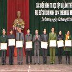 Huyện ủy tổng kết công tác xây dựng Đảng năm 2014 và triển khai phương hướng nhiệm vụ năm 2015