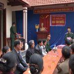 BCH quân sự huyện bàn giao nhà tình nghĩa tại xã Ngọc Sơn.