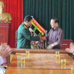 Đồng chí Nguyễn tất Thành thăm, tặng quà và chúc mừng cán bộ, chiến sỹ và nhân viên y tế bệnh xá Sư đoàn 324.