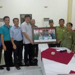 Hội cựu TNXP huyện Đô Lương vào lăng viếng Chủ tịch Hồ Chí Minh