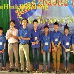 Trung tâm GDTX Đô Lương tổ chức hội thi rung chuông vàng tìm hiểu hiến pháp và pháp luật năm 2015.