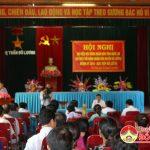 Đồng chí Hoàng Viết Đường Phó Chủ tịch HĐND tỉnh tiếp xúc cử tri Đô Lương(11/07/2016)
