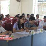 Đại biểu HĐND huyện tiếp xúc cử tri tại xã Nhân Sơn