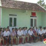 Cơ quan Huyện ủy tổ chức lễ bàn giao nhà tình nghĩa  cho mẹ Trương Thị Hảo