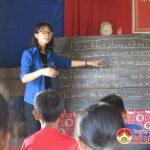 Lớp học tiếng Anh miễn phí ở xã Bài Sơn