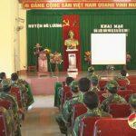 Đô Lương: Ra quân huấn luyện lực lượng quân dự bị động viên năm 2016