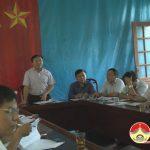 Lãnh đạo UBND huyện Đô Lương làm việc với xã Đại Sơn