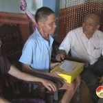 Đồng chí Trương Hồng Phúc – Bí thư huyện ủy thăm và tặng quà các gia đình thương binh bệnh binh và liệt sỹ