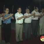 Đồng chí Trương Hồng Phúc dâng hoa, dâng hương tại Nghĩa trang hữu nghị Việt- Lào, huyện Anh Sơn