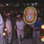 Thị trấn Đô Lương tổ chức thắp nến tri ân các anh hùng liệt sỹ nhân dịp