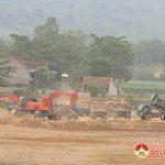 Xã Giang Sơn Đông nâng cấp, tu sửa đập Róm
