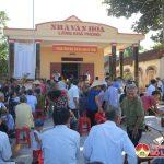 Xóm 5A, xã Nam Sơn đóng góp 300 triệu đồng xây dựng nhà văn hóa