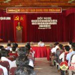 Huyện ủy Đô Lương tổ chức bổ cứu rút kinh nghiệm và thực hiện công tác kiểm tra, giám sát