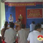 Đại biểu HĐND huyện tiếp xúc cử tri xã Lạc Sơn