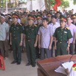 Lễ truy điệu và trao bằng Tổ quốc ghi công cho gia đình liệt sỹ Nguyễn Văn Phượng