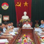 Hội nghị nghe và cho ý kiến về kế hoạch xây dựng thị trấn Đô Lương đạt chuẩn văn minh đô thị giai đoạn 2016-2020