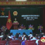 Thị trấn Đô Lương tổ chức kỳ họp thứ 2, HĐND thị trấn khoá VI  nhiệm kỳ 2016 – 2021