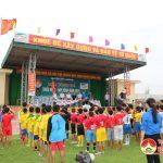 Huyện Đô Lương khai mạc giải bóng đá thiếu niên, nhi đồng năm 2016