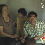 Xót xa cảnh mẹ già nuôi 2 con bị nhiễm chất độc da cam