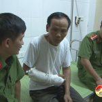 Lãnh đạo công an huyện Đô Lương thăm hỏi công an viên Thị trấn bị thương trong khi làm nhiệm vụ