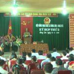 Xã Đông Sơn khai mạc  kỳ họp thứ 2, HĐND xã khoá XIX nhiệm kỳ 2016 – 2021