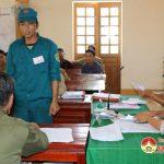 Xã Lưu Sơn tổ chức diễn tập chiến đấu phòng thủ năm 2016