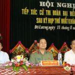Đại biểu Quốc hội khóa XIV tiếp xúc cử tri Đô Lương