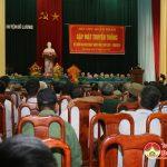 Hội nhập ngũ huyện Đô Lương: Tổ chức kỷ niệm 40 năm ngày nhập ngũ tháng 8/1976