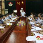 UBND huyện: Tổ chức hội nghị đánh giá kết quả kinh tế – xã hội tháng 8 và triển khai nhiệm vụ tháng 9.
