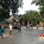 Trường tiểu học xã Bài Sơn đầu tư 400 triệu đồng tu sửa cơ sở vật chất phụ vụ năm học mới