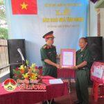 Bộ chỉ huy quân sự tỉnh Nghệ An:  Bàn giao nhà tình nghĩa cho ông Nguyễn Doãn Toàn.