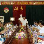 Chủ tịch UBND tỉnh Nguyễn Xuân Đường Làm việc với huyện Đô Lương