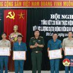 Huyện Đô Lương:  Tổ chức hội nghị tổng kết 20 năm  thực hiện Pháp lệnh lực lượng dự bị động viên