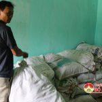 Công an Đô Lương băt và tạm giữ 2.656 kg măng khô nghi tẩm chất cấm
