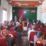 Công an Tân Sơn phát động ngày vì an ninh tổ quốc