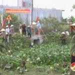 Hơn 800 hội viên phụ nữ xã Thượng Sơn ra quân làm giao thông thuỷ lợi