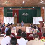 Xã Tràng Sơn đã tổ chức diễn tập chiến đấu phòng thủ năm 2016.