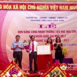 Trường tiểu học Hòa Sơn đón nhận chuẩn mức độ 2 và khai giảng năm học mới 2016 – 2017