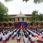 Trường THCS Lý Nhật Quang tổ chức lễ khai giảng năm học mới