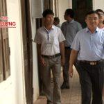 Đồng chí Ngọc Kim Nam – Chủ tịch UBND huyện kiểm tra thực hiện Chỉ thị 26 tại các xã.